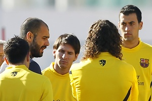 Busquets se deja querer por Guardiola
