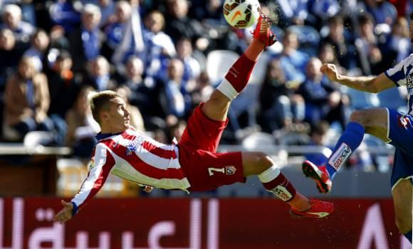 Griezmann sale al rescate del Atlético