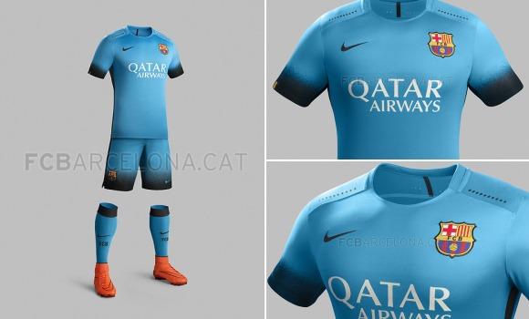 El Barça jugará de azul en Roma  UEFA impide el uso de la nueva camiseta -señera 9d836479a97