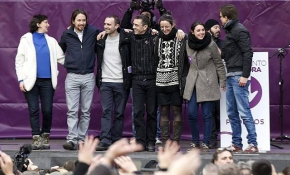 Salvaje agresión a Podemos - 310x