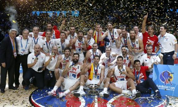 España, campeón del Eurobasket