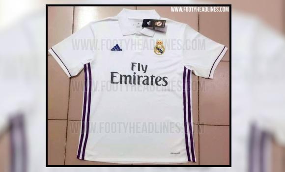 3ac7afa83dfc1 Filtran cómo será la nueva camiseta del Real Madrid para la temporada 2016- 2017 - EcoDiario.es