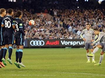Cristiano Ronaldo y su mal porcentaje en lanzamientos de falta: 2% de 94 intentos