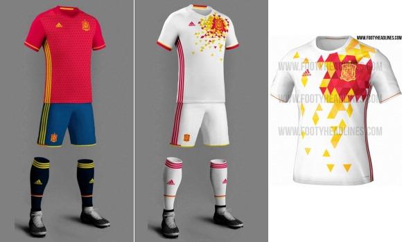 Así será la camiseta de España para la Euro  entre la tradición y la  revolución 0595893d6a1d9