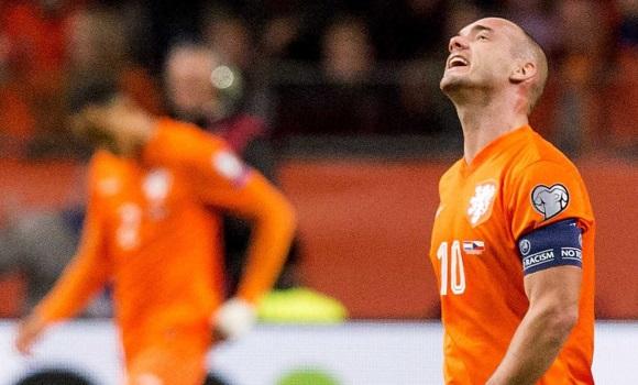 Holanda confirma su debacle en la Euro