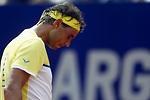 Rafa Nadal se estrella en Buenos Aires