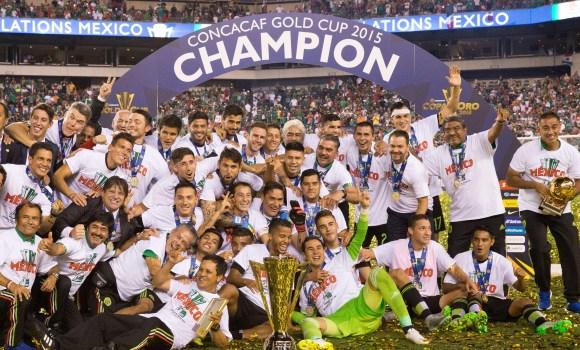 México golea y gana la Copa Oro