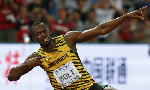 Usain Bolt gana el oro en los 200 metros