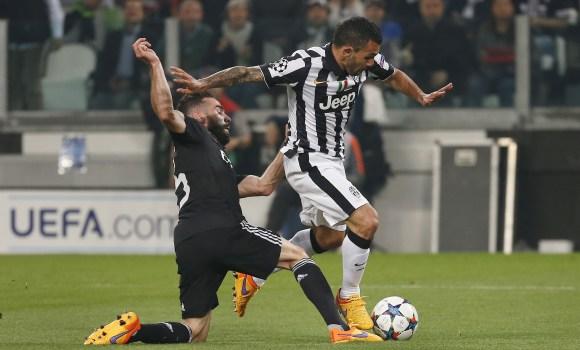 Los cinco jugadores  señalados  en la derrota del Real Madrid en Turín -  EcoDiario.es 9eb7706198c4e