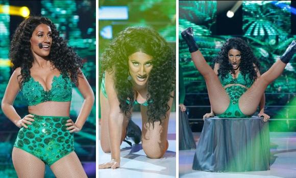 Ana Morgade sube la temperatura en TCMS con su twerking a lo Nicki Minaj