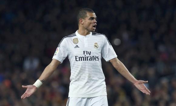Pepe, en peligro para el derbi europeo