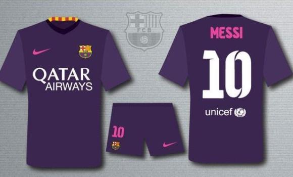 Adiós a la señera  el Barça vestirá de morado la próxima temporada -  EcoDiario.es b5f0ee62019
