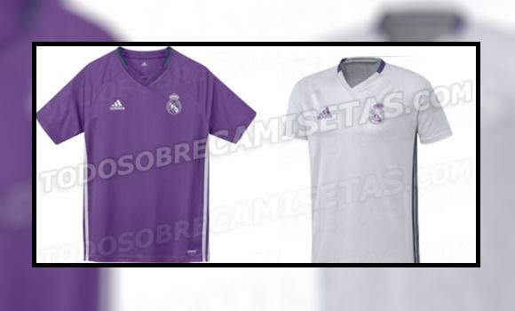 Así será la camiseta del Real Madrid 16-17  vuelve el morado y ... 62a3716e4c2