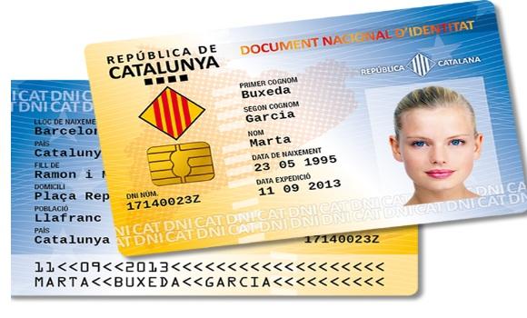 Así se hace el DNI catalán