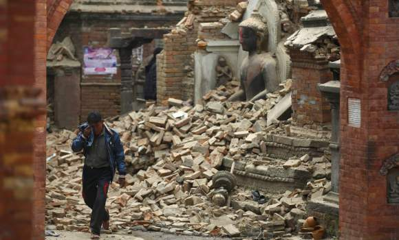 Nuevo terremoto en Nepal - 310x