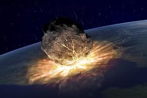 Peligro mortal por meteorito