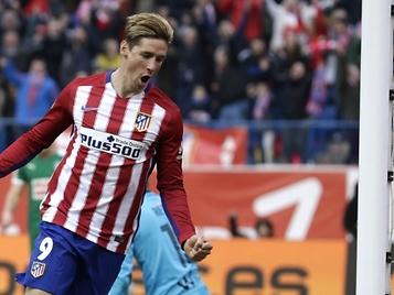 Fernando Torres logra al fin su ansiado gol 100 con el Atlético de Madrid