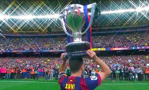 Así fue la fiesta de Xavi y el Barça - 310x