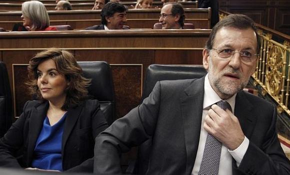 Rajoy y Soraya no se hablan - 310x