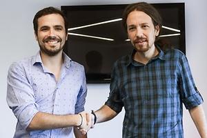 Sí de IU a concurrir con Podemos
