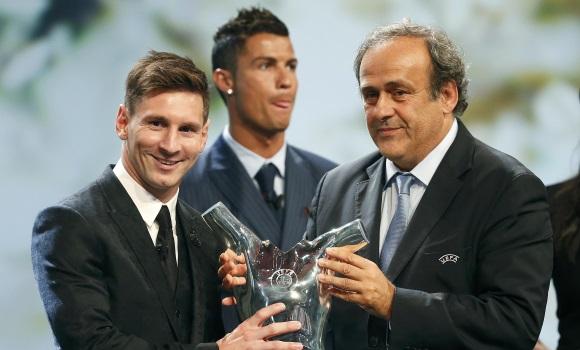 Leo Messi, elegido Mejor Jugador de Europa de la UEFA 2015