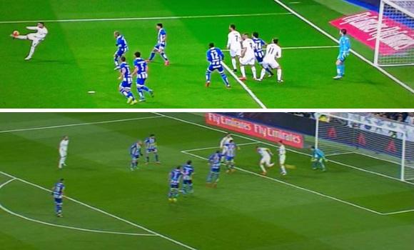 As fue el primer gol del real madrid de zidane taconazo for Fuera de juego real madrid