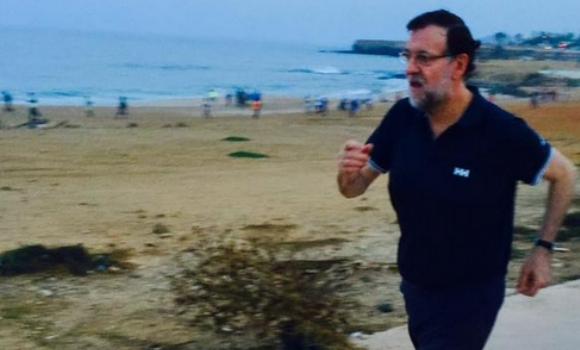 Caminata de Rajoy al amanecer - 310x