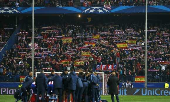 Los ultras del Atlético tendrán que someterse a identificación con huella  dactilar para acceder al Calderón e63b4a82e69bd