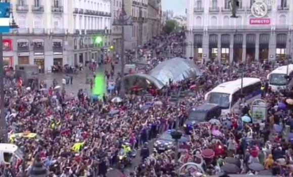 En directo siga la celebraci n de la und cima copa de for Puerta del sol en directo ahora
