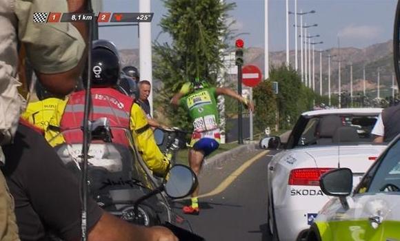 Peter Sagan abandona La Vuelta