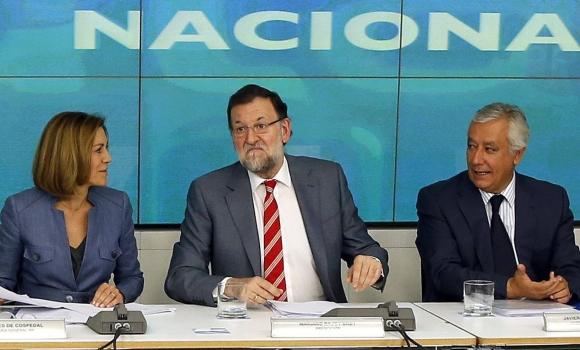 Rajoy-Cospedal-Arenas-25mayo2015-EFE.jpg