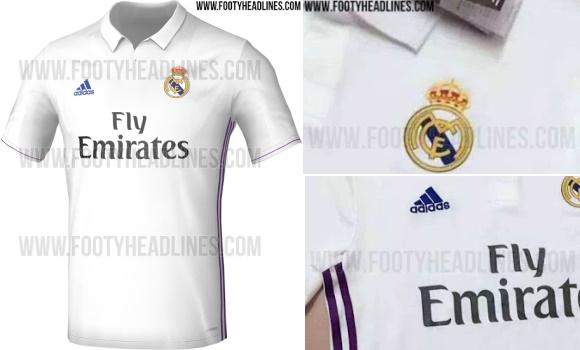 Filtran cómo será la nueva camiseta del Real Madrid para la ... 688526112856b