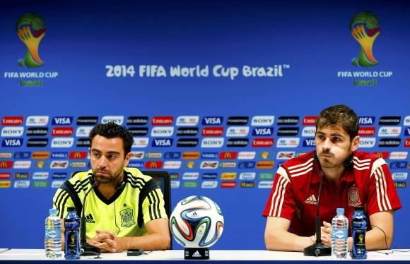 Nacional y Real Madrid Juntos Xavi y Casillas Juntos