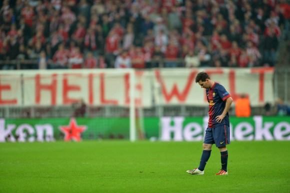 reputable site be00c ccf48 El día que el Barça jugó con uno menos por culpa de Leo Messi