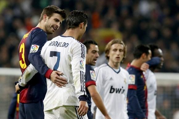 """Cristiano Ronaldo se venga de Piqué y su """"me sé todos los trucos ..."""