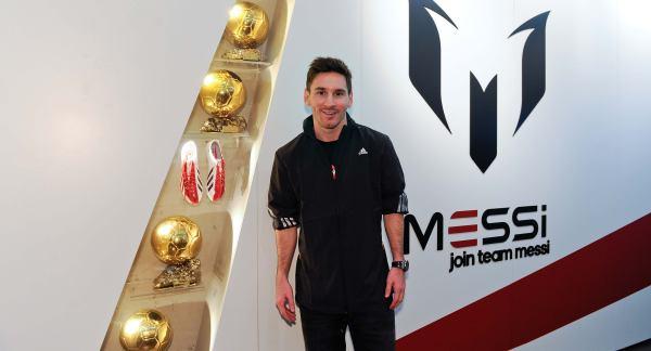 Los patrocinadores no dan la espalda a Leo Messi