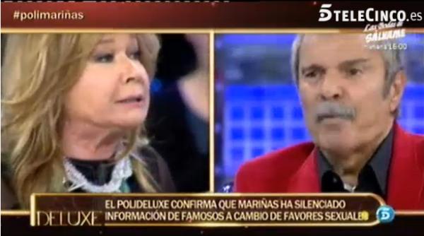 Sofía Suescun, en Sábado Deluxe: Avilés grababa