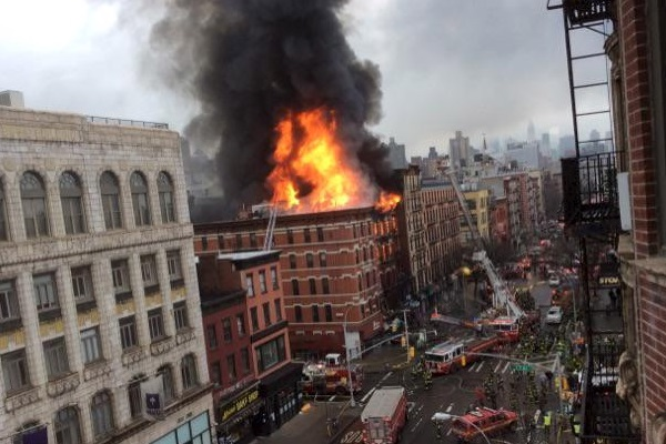 Varios heridos en Nueva York