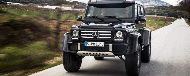 En venta el nuevo Mercedes-Benz G 4x4²