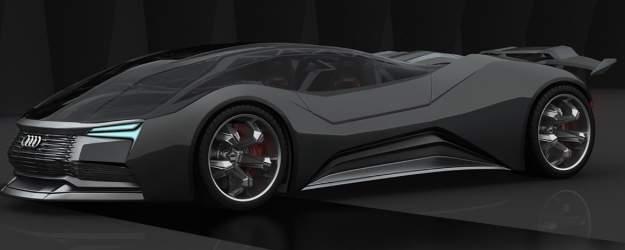 Un diseñador ruso crea un Audi propulsado por fusión nuclear