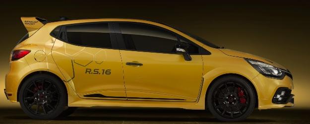 Renault Clio R.S 16 Concept: el pequeño de la casa francesa alardea de sus 275 CV