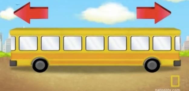 OTRO JUEGO VISUAL: �Hacia d�nde va el autob�s?