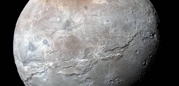 ASTRONOMIA: Se publican las mejores im�genes de Caronte, la luna m�s grande de Plut�n