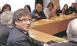 Puigdemont mantiene la indefinición sobre el próximo Gobierno de Cataluña