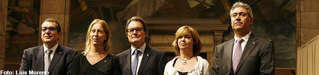 Los nuevos consellers son la vicepresidenta Neus Munté, Borràs, Jané y Ciuraneta - 250x150