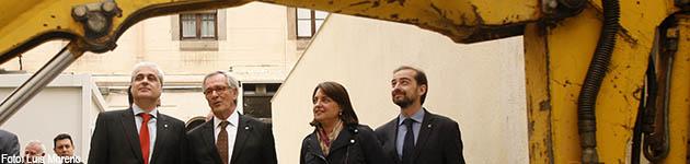 El Ayuntamiento inicia el derribo de un módulo de La Modelo como paso a su cierre en 2017