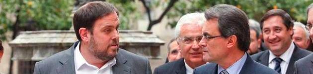 Junqueras responde a Mas que deben concentrarse en el 27S y no distraerse con pactos para las generales