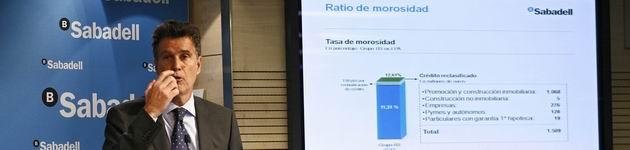 Banco Sabadell gana 174,6 millones hasta marzo, un 115% más - 360x150