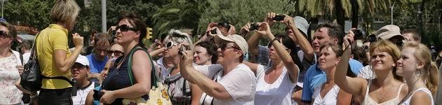 Los turistas extranjeros gastan 1.343 millones en Catalunya hasta febrero, un 8,7% más