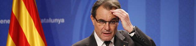 CSIF anuncia una querella contra Artur Mas por negarse a devolver la extra a los funcionarios catalanes